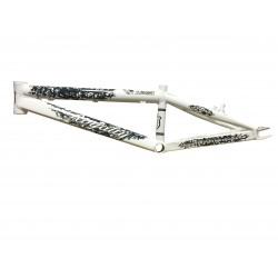 Cadre ROYALTY BMX Slingshot Blanc