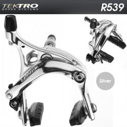 Paire d'étriers de frein de route Tektro R539 polish
