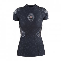 PRO-X Tee-shirt de protection Femme Noir Logo