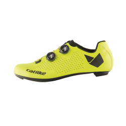 Chaussures WHISPER OVAL ROAD CARBON YELLOW