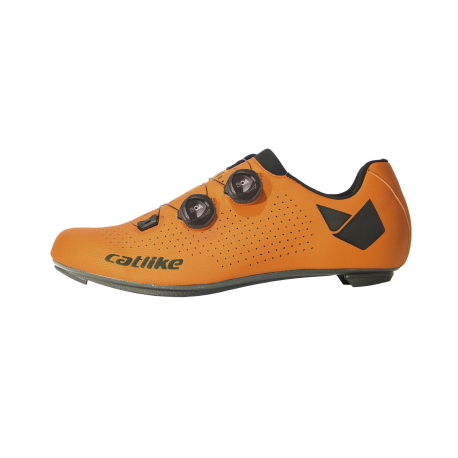 Chaussures WHISPER OVAL ROAD CARBON ORANGE