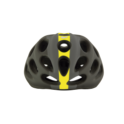 Casque CHUPITO BLACK-GREY-YELLOW MATT