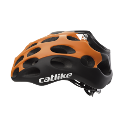 Casque MIXINO ASYMETRIC BLACK-ORANGE MATT