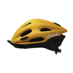 Casque ORIGEN BLACK-YELLOW MATT