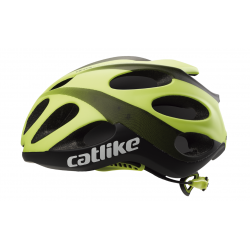 Casque VENTO BLACK-YELLOW MATT