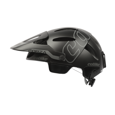 Casque FORZA 1.2 BLACK BRIGHT MATT WHITOUT CHIN PROTEC