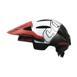 Casque FORZA 1.2 BLACK-WHITE-RED WHITOUT CHIN PROTEC