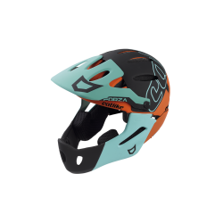 Casque FORZA 2.0 WITH CHIN PROTECTION BLUE ORANGE BLACK