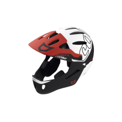 Casque FORZA 2.0 WITH CHIN PROTECTION BLACK WHITE RED