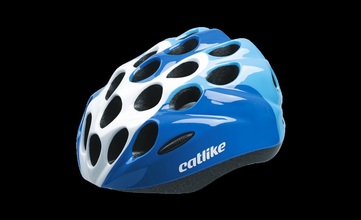 Catlike Casque KITTEN BLUE-WHITE
