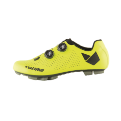 Chaussures WHISPER OVAL CARBON MTB YELLOW