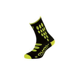 Chaussettes OVAL SUPPLEX BLACK YELLOW FLUOR