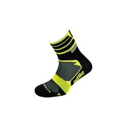 Chaussettes SUPPLEX MTB REFLECTOR YELLOW FLOUR-BLACK