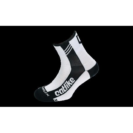 Chaussettes SUPPLEX ROAD WHITE-BLACK
