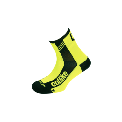 Chaussettes SUPPLEX ROAD YELLOW FLUOR-BLACK