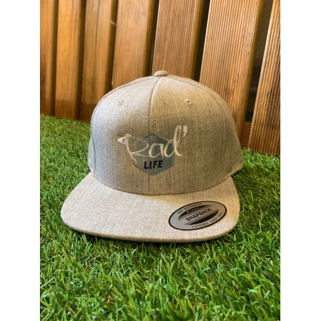 Casquette RAD Life snapback Grise