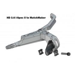 Shifter adaptateur gauche HD3.6 Shifter Adapters