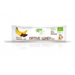 BARRE protéinée Banane et chocolat au lait 30gr