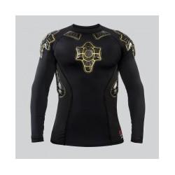PRO-X Tee-shirt de protection Unisex Noir/Jaune