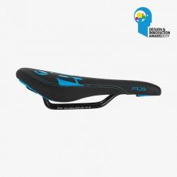 Selle SDG Junior FLY JR - Steel Rails noir/bleu