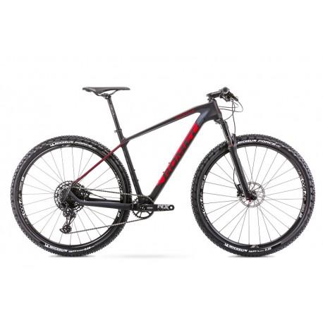 Vélo ROMET MTB 29 pouces MONSUN 2 noir-rouge XL