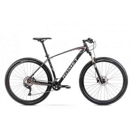 Vélo ROMET MTB 29 pouces MUSTANG M7 noir-or M