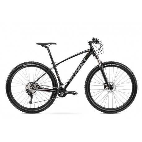 Vélo ROMET MTB 29 pouces MUSTANG M5 noir-or foncé XL
