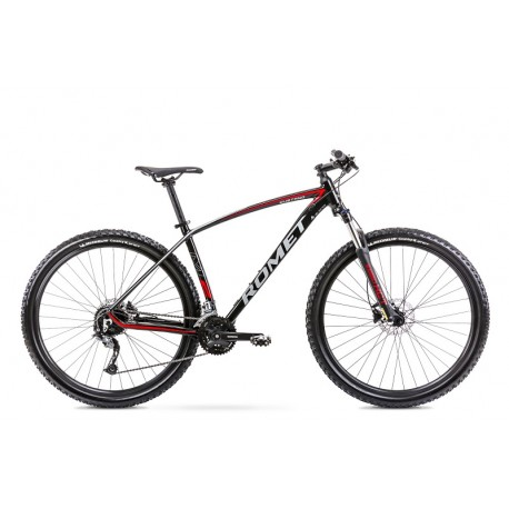 Vélo ROMET MTB 29 pouces MUSTANG M2 noir-rouge L