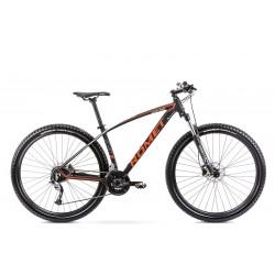 Vélo ROMET MTB 29 pouces MUSTANG M1 noir et orange M