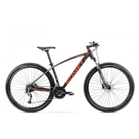 Vélo ROMET MTB 29 pouces MUSTANG M1 noir et orange L