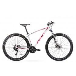 Vélo ROMET MTB 29 pouces MUSTANG M1 blanc-rouge XL