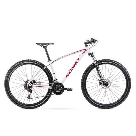 Vélo ROMET MTB 29 pouces MUSTANG M1 blanc-rouge M