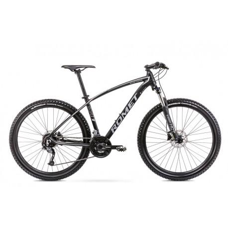 Vélo ROMET MTB 27 pouces MUSTANG M7.1 noir-gris L