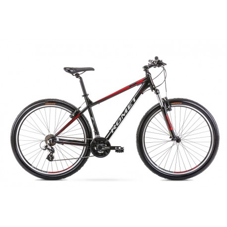 Vélo ROMET MTB 29 pouces RAMBLER R9.0 noir-rouge XL