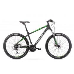 Vélo ROMET MTB 27 pouces RAMBLER R7.2 noir-bleu vert L