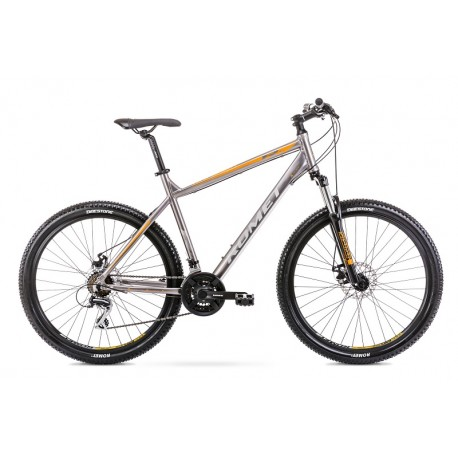 Vélo ROMET MTB 27 pouces RAMBLER R7.1 graphite XL