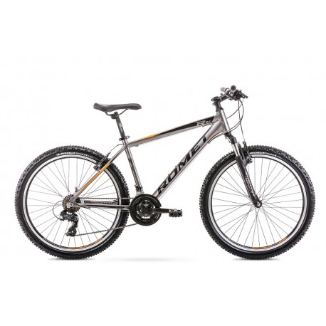 Vélo ROMET MTB 26 pouces RAMBLER R6.1 graphite L
