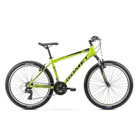 Vélo ROMET MTB 26 pouces RAMBLER R6.0 vert citron S