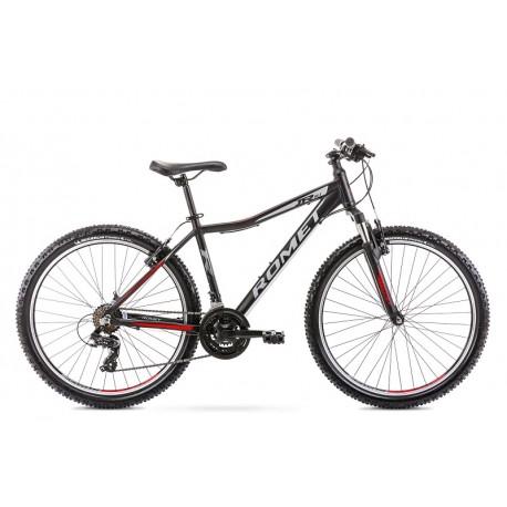 Vélo ROMET MTB 26 pouces RAMBLER R6.1JR noir-rouge S