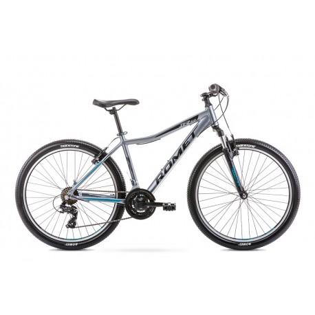 Vélo ROMET MTB 26 pouces RAMBLER R6.0JR graphite-turquoise L
