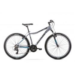 Vélo ROMET MTB 26 pouces RAMBLER R6.0JR graphite-turquoise M