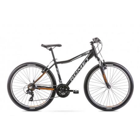 Vélo ROMET MTB 26 pouces RAMBLER R6.0JR noir et orange M