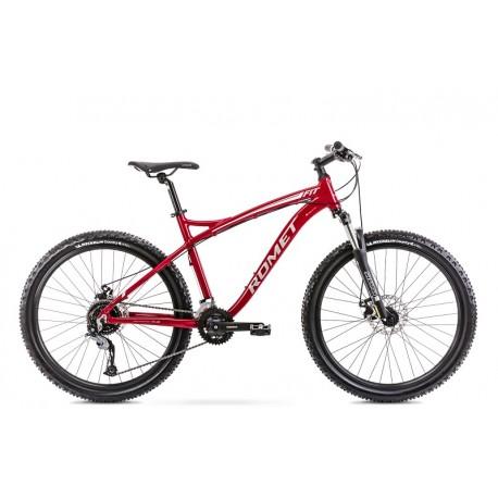 Vélo ROMET MTB 26 pouces RAMBLER FIT 26 bordeaux-argent L