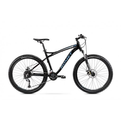 Vélo ROMET MTB 26 pouces RAMBLER FIT 26 noir-bleu XL