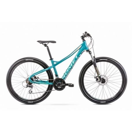 Vélo ROMET MTB 27 pouces JOLENE 7.1 turquoise S