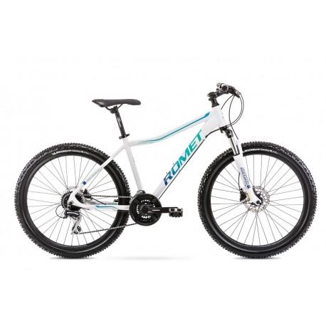 Vélo ROMET MTB 26 pouces JOLENE 6.3 blanc-vert L