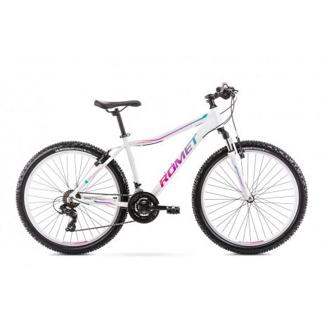 Vélo ROMET MTB 26 pouces JOLENE 6.1 blanc-vert L