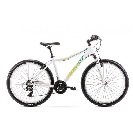 Vélo ROMET MTB 26 pouces JOLENE 6.0 blanc-vert S
