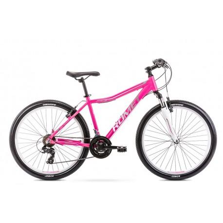 Vélo ROMET MTB 26 pouces JOLENE 6.0 rose-gris L