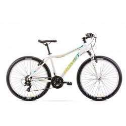 Vélo ROMET MTB 26 pouces JOLENE 6.0 blanc-vert L